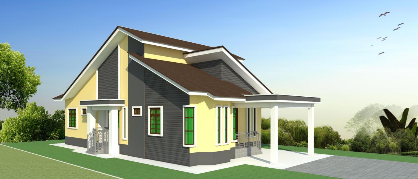 Home Designs Design Bungalow Design 3 Banglo Moden Setingkat